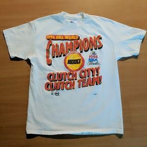 VTG 1994 Houston Rockets NBA Championship T-shirt
